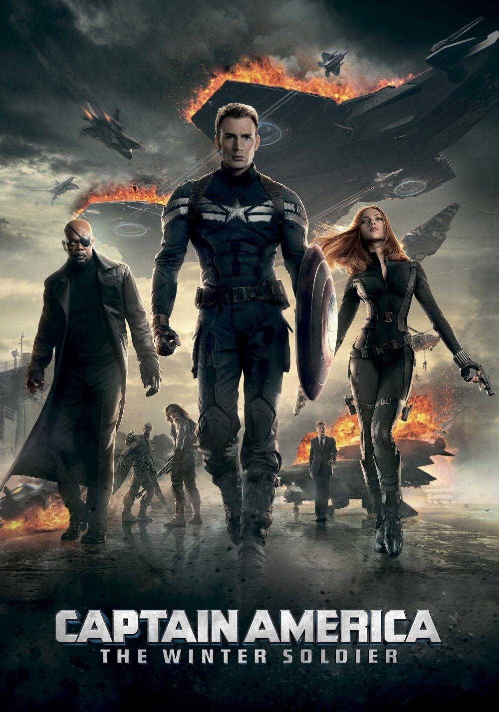 Captain America: The Winter Soldier Fanart