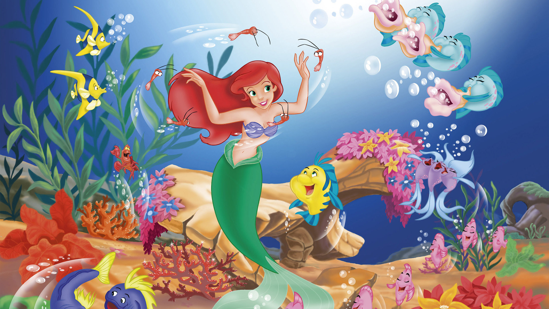 Ariel little mermaid movie
