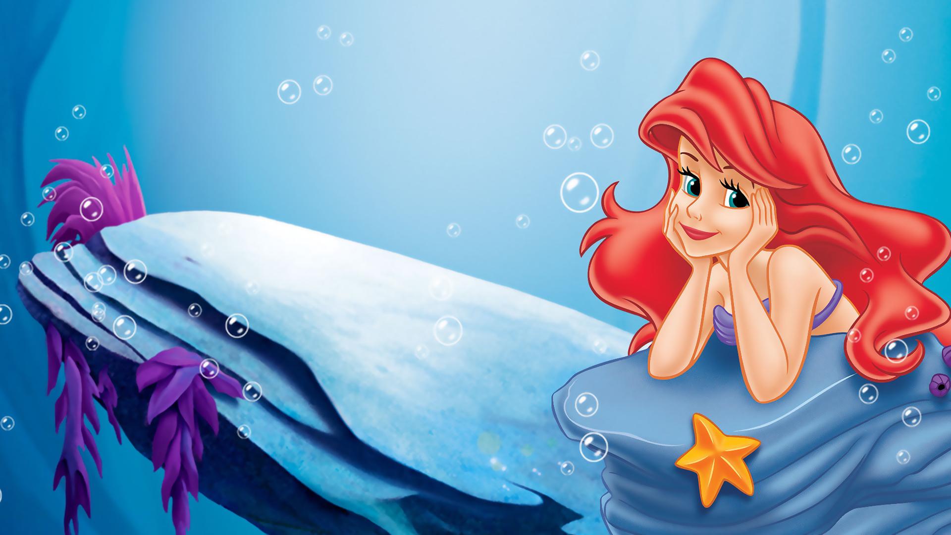 Little mermaid movie poster