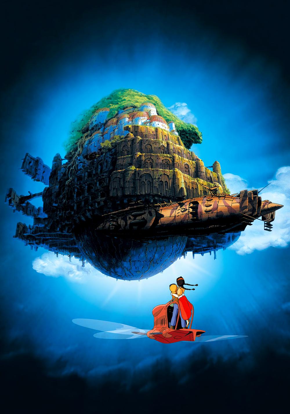 castle in the sky movie fanart fanarttv