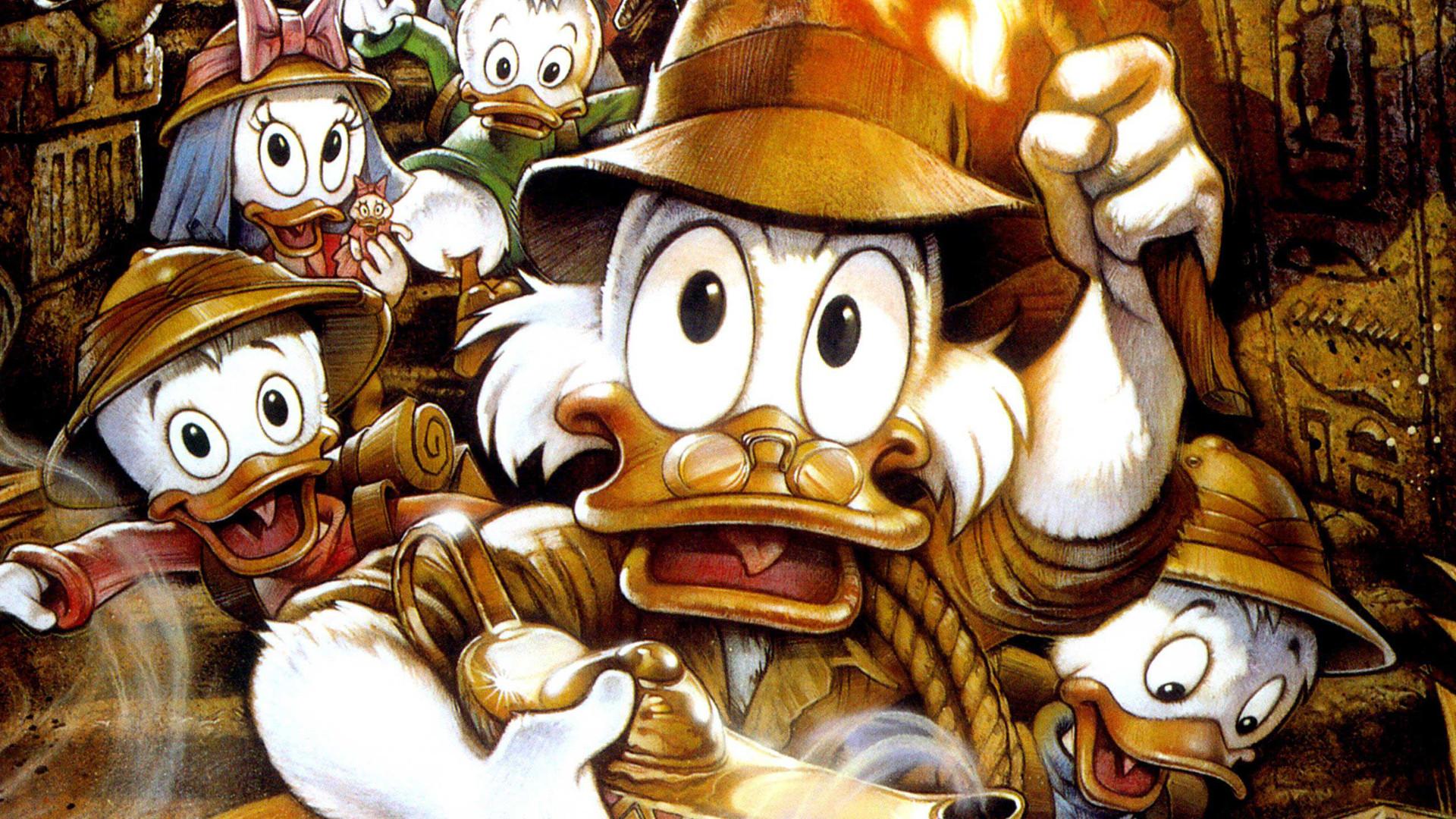 ducktales the movie treasure of the lost lamp movie
