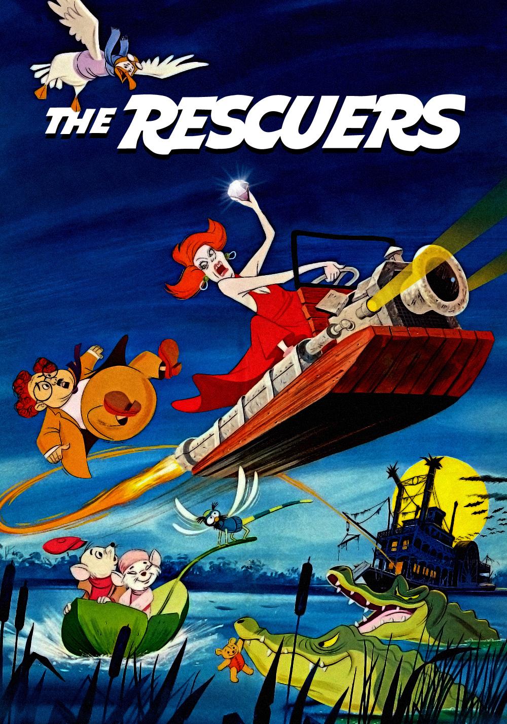 The Rescuers | Movie fanart | fanart.tv
