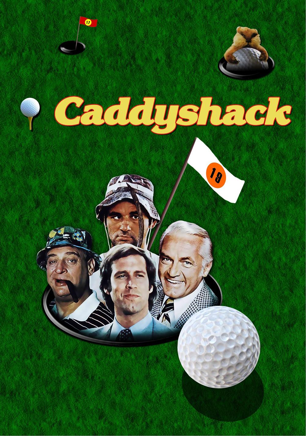 caddyshack movie fanart fanarttv