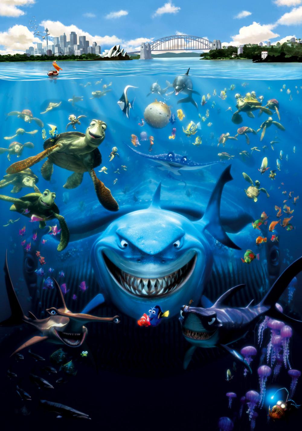 Finding nemo movie fanart for Fish story movie
