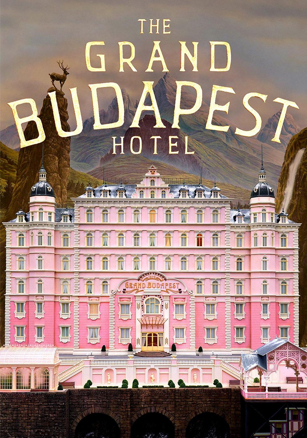 Poster Grand Budapest Hotel