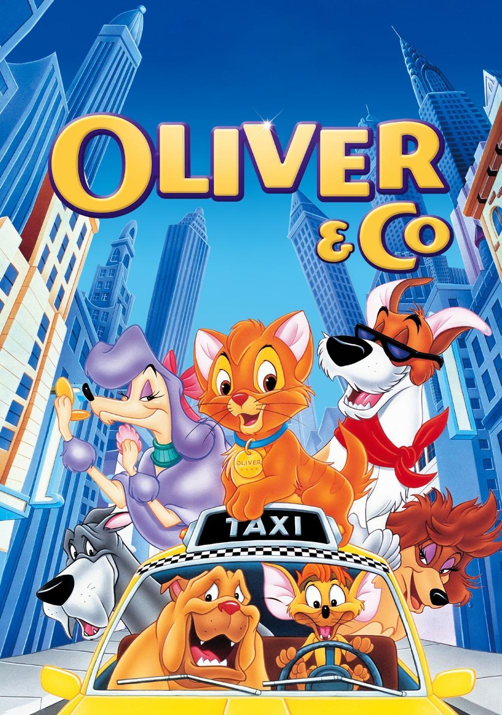 oliver amp company movie fanart fanarttv