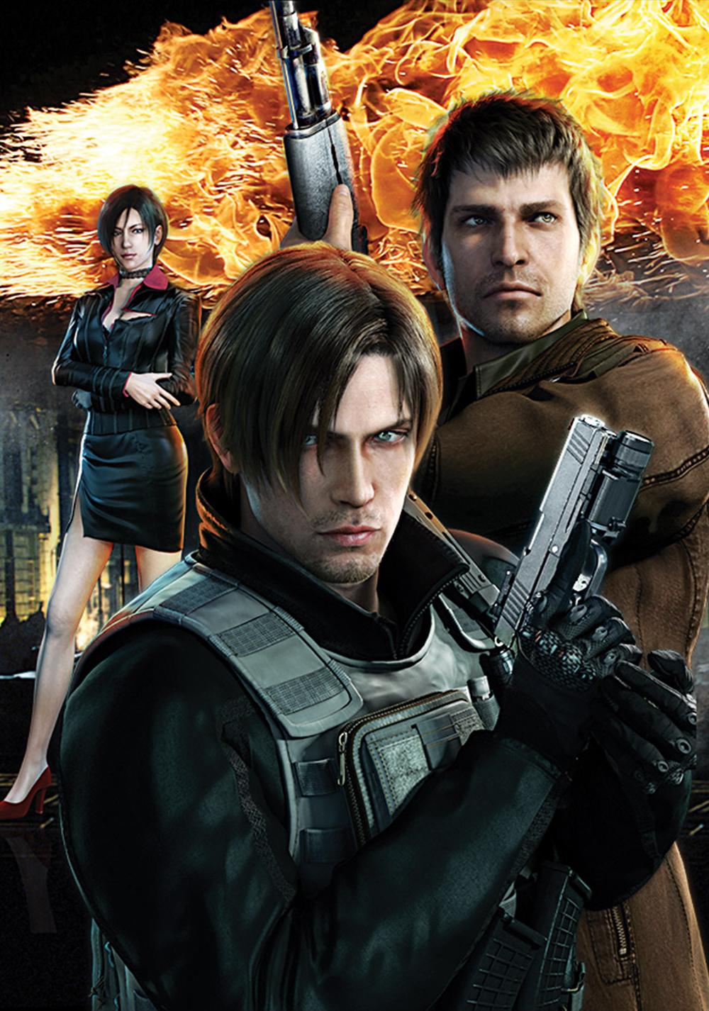 Resident Evil: Damnation   Movie fanart   fanart.tv