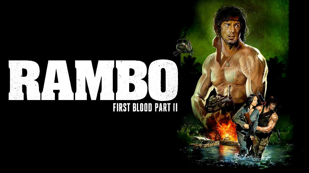 Rambo First Blood Part Ii Movie Fanart Fanart Tv
