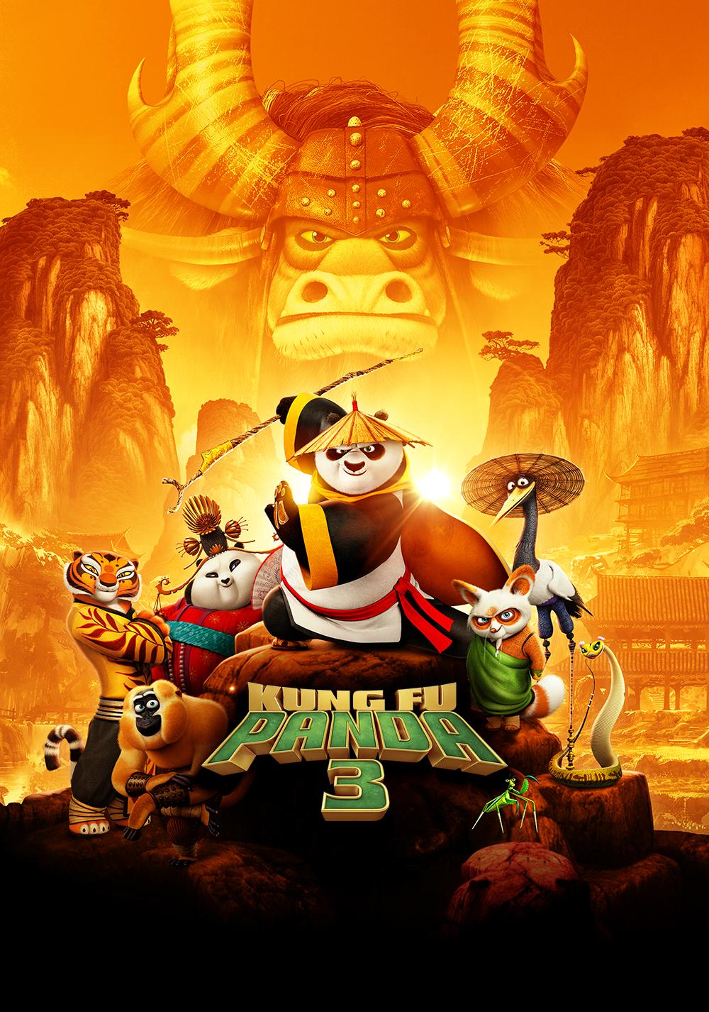Kung Fu Panda 3 Movie Fanart Fanart Tv