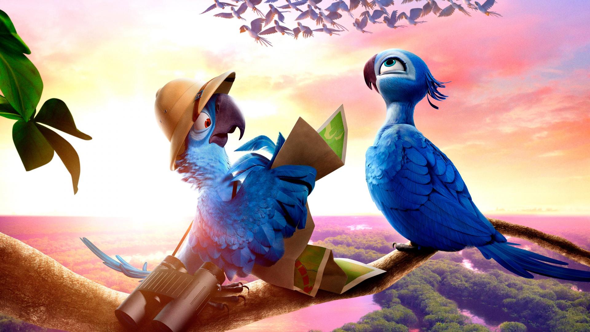 Rio 2 Movie Wallpaper Rio 2 | Movie fanart |...