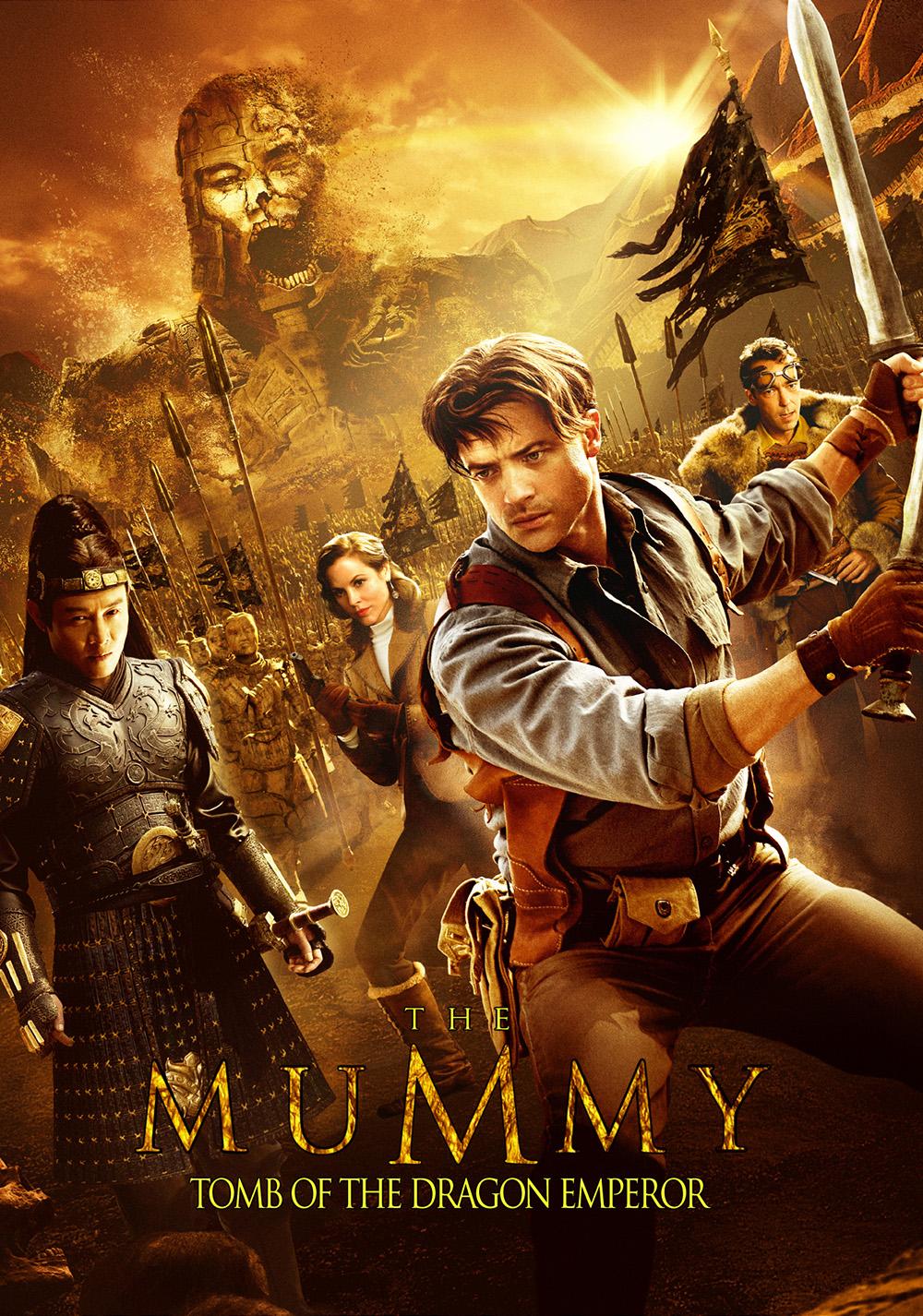 The Mummy: Tomb of the Dragon Emperor   Movie fanart ...