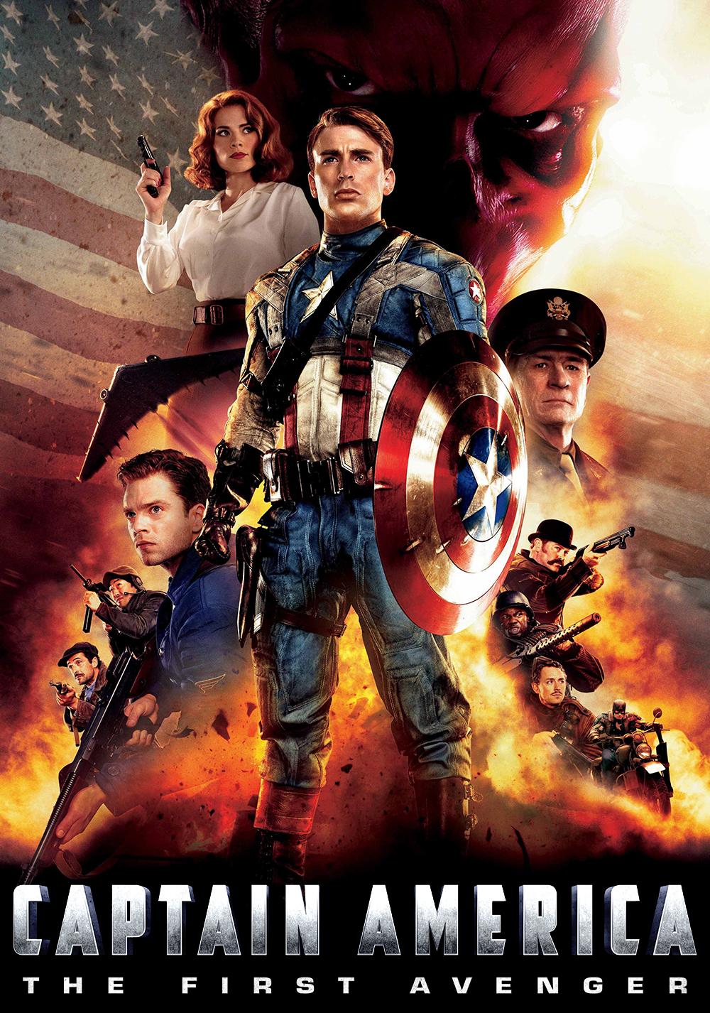 Captain america the first avenger movie fanart for Captain america
