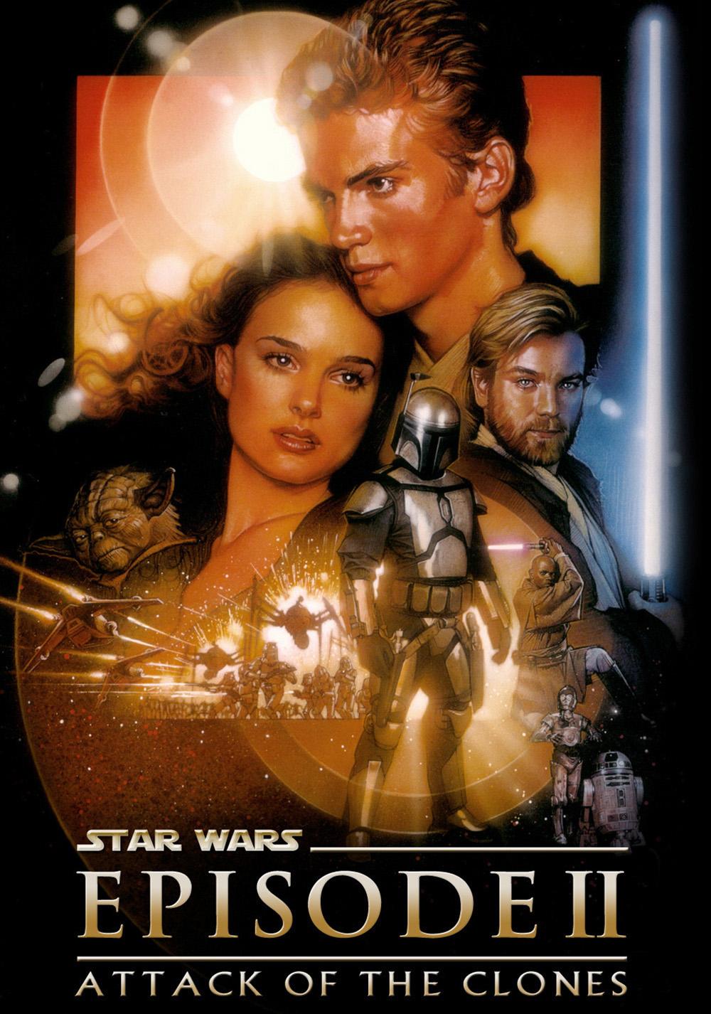 star wars episode ii attack of the clones movie fanart. Black Bedroom Furniture Sets. Home Design Ideas