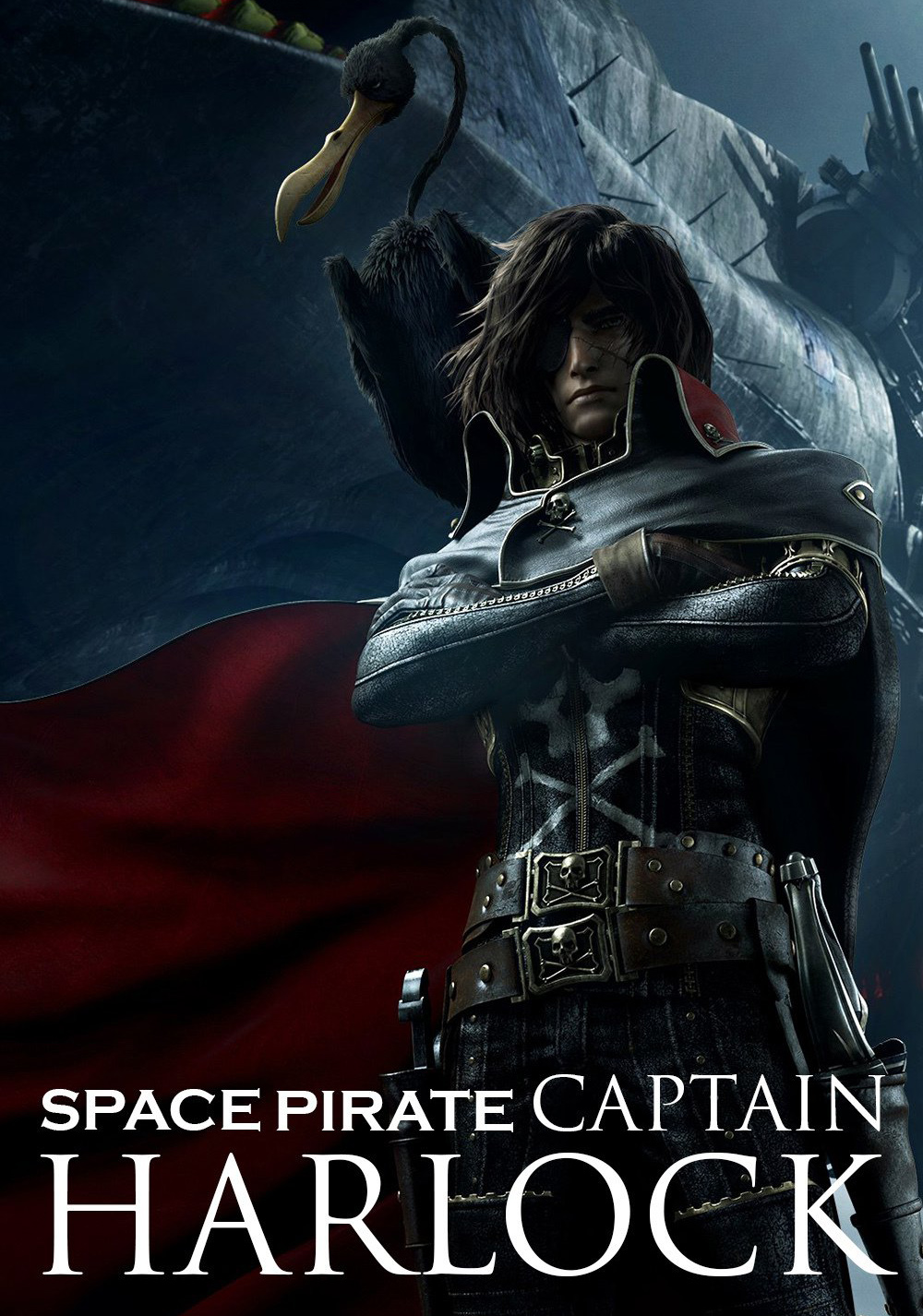 Space Pirate Captain Harlock Serie
