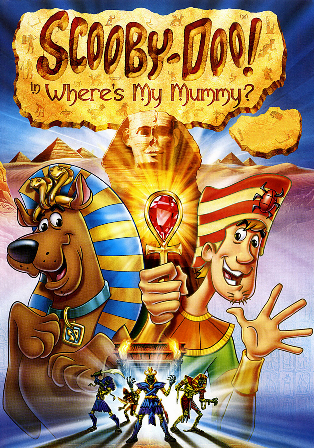 Scooby doo in where s my mummy fanart