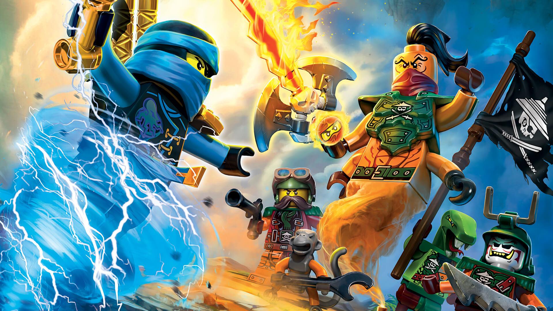 Lego Ninjago: Masters of Spinjitzu | Movie fanart | fanart.tv