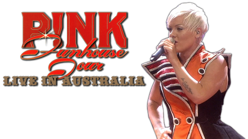 pink funhouse tour live in australia movie fanart. Black Bedroom Furniture Sets. Home Design Ideas