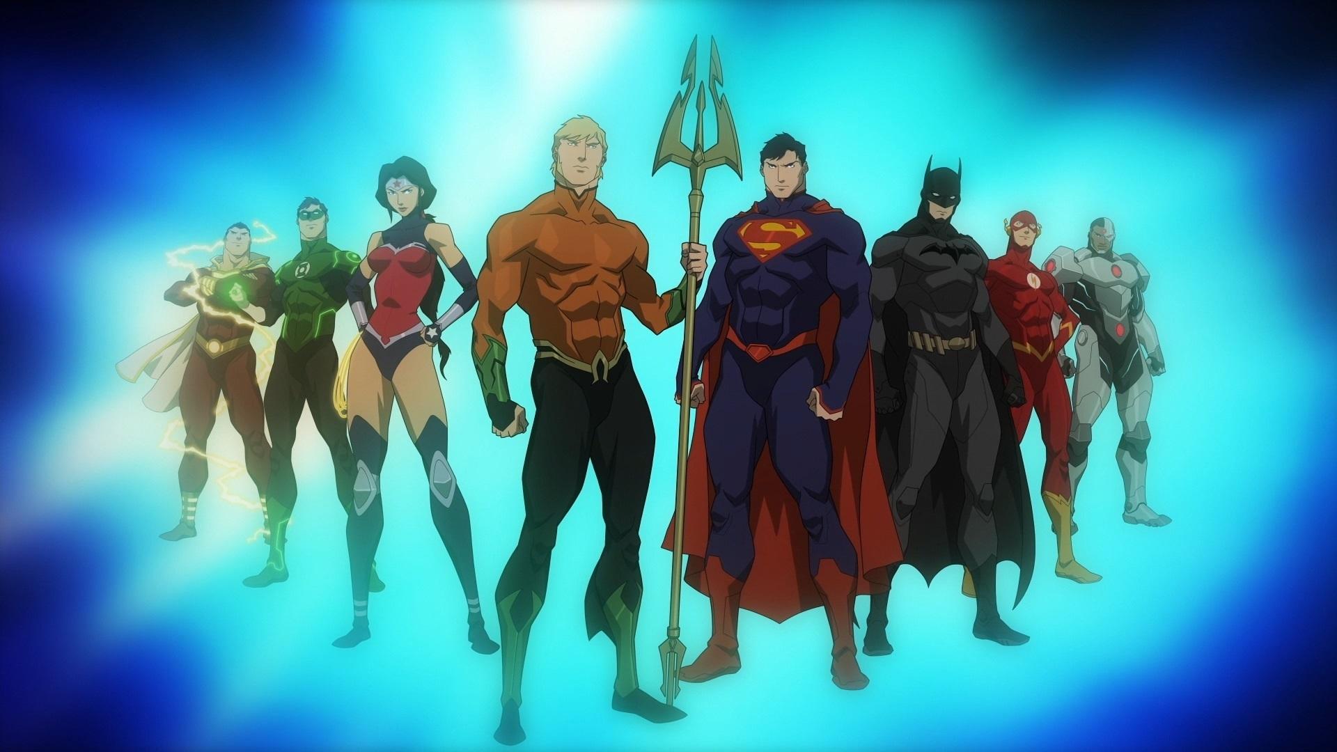 Justice League Throne of Atlantis Wallpaper Justice League Throne of