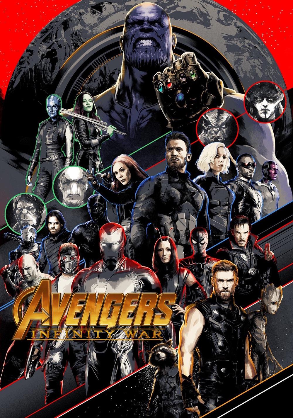 Avengers Infinity War Part I Movie Fanart Fanart Tv