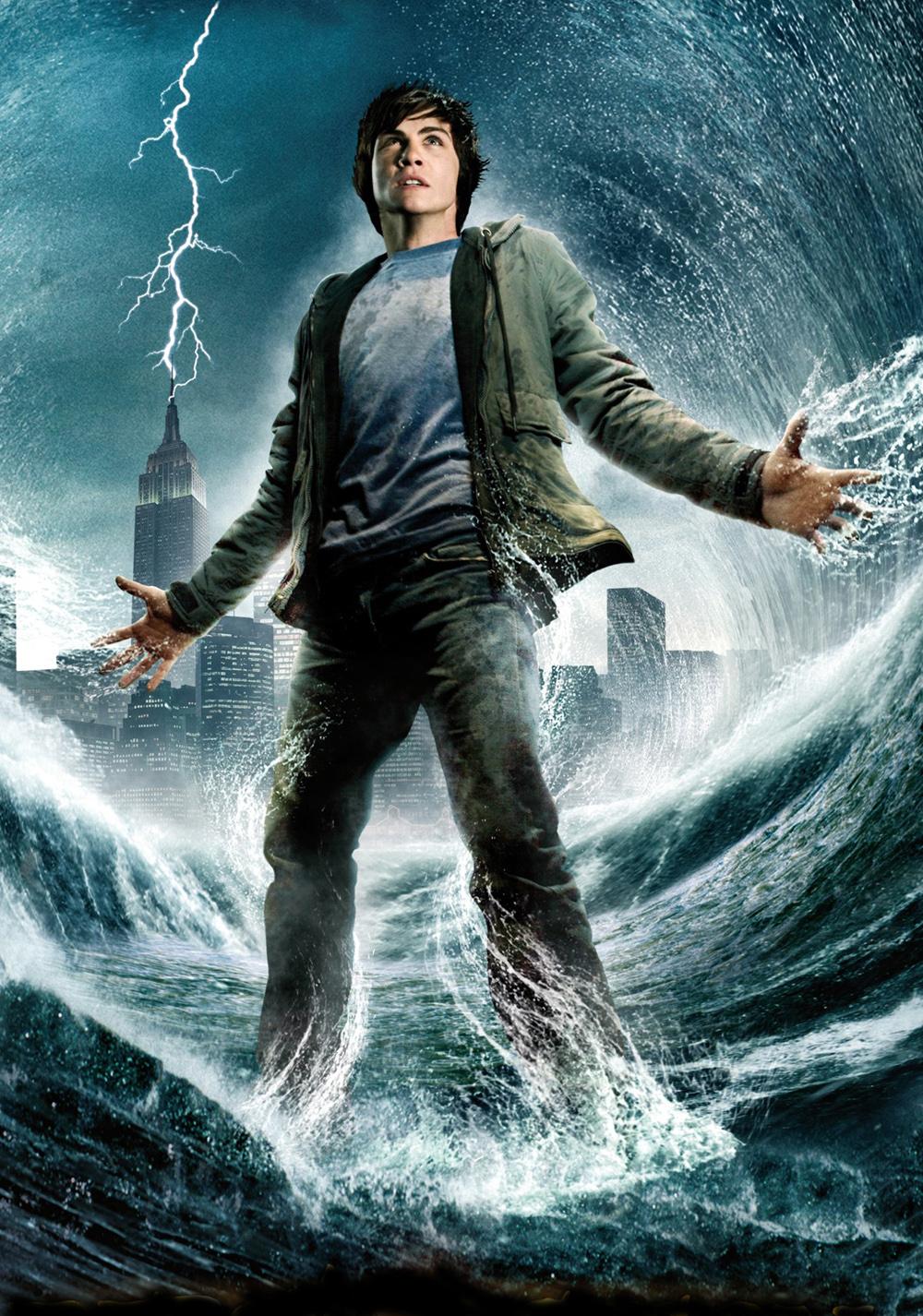 Percy Jackson The Olympians The Lightning Thief Movie Fanart Fanar