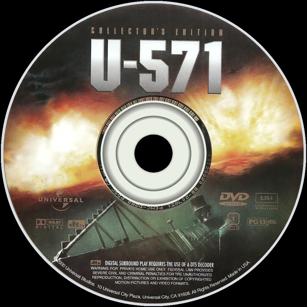 U-571 dvd disc image