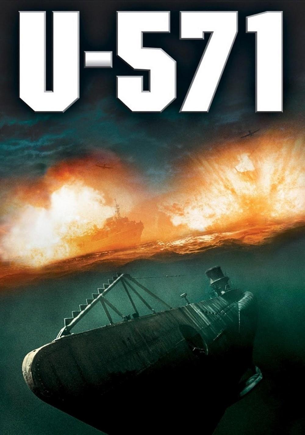 U-571 movie poster image
