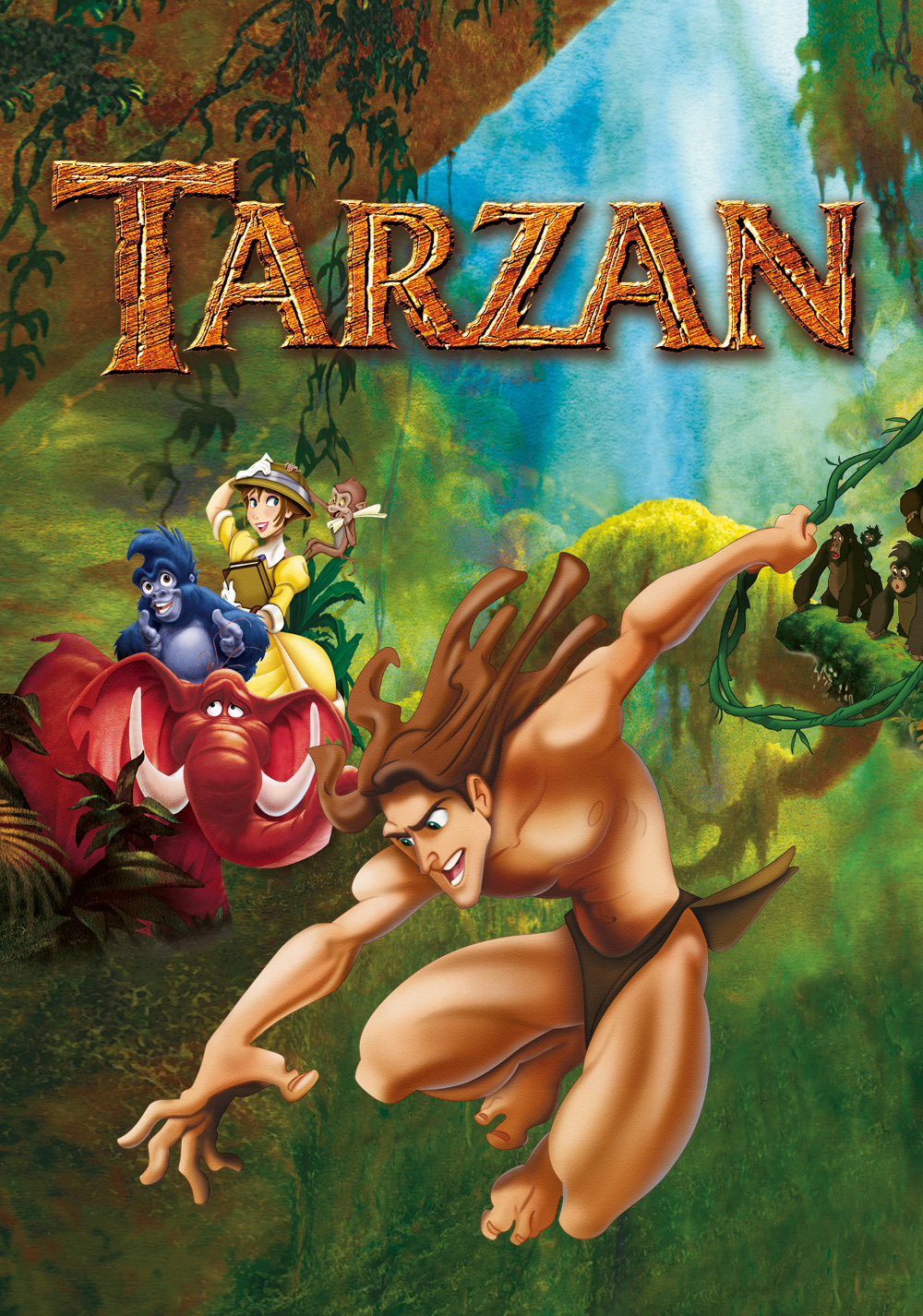 Tarzan 2 Movie Tarzan Movie Poster Image