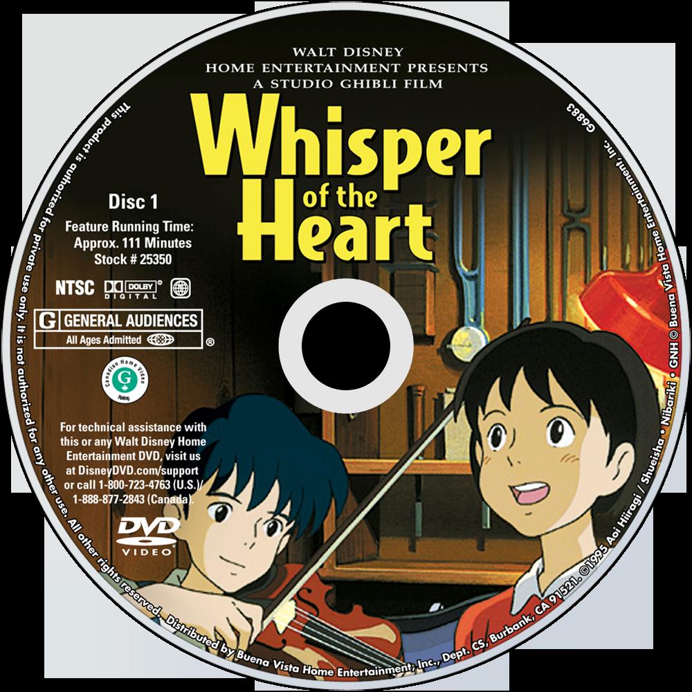 whisper of the heart movie fanart fanarttv