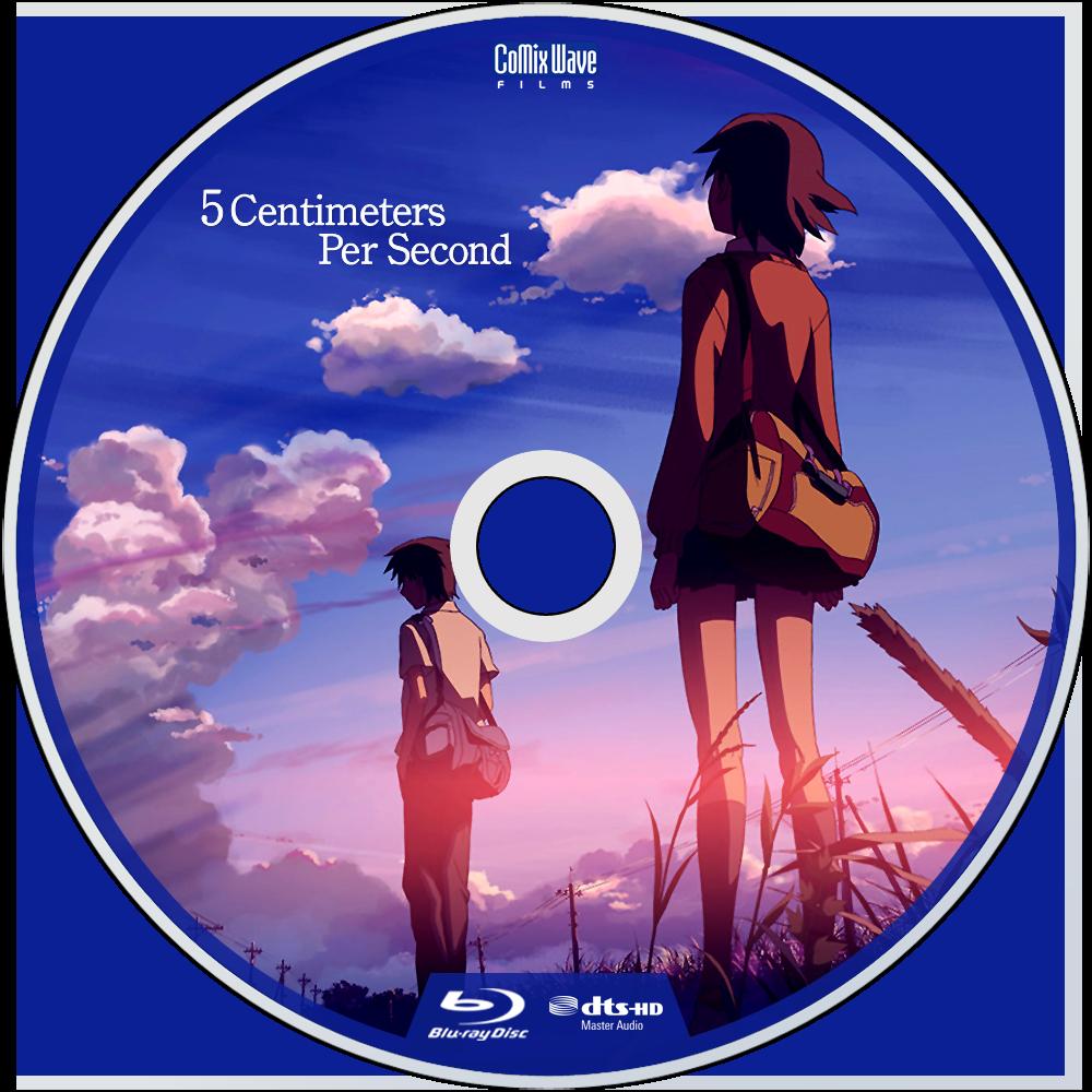 5 Centimeters Per Second Bluray Disc Image