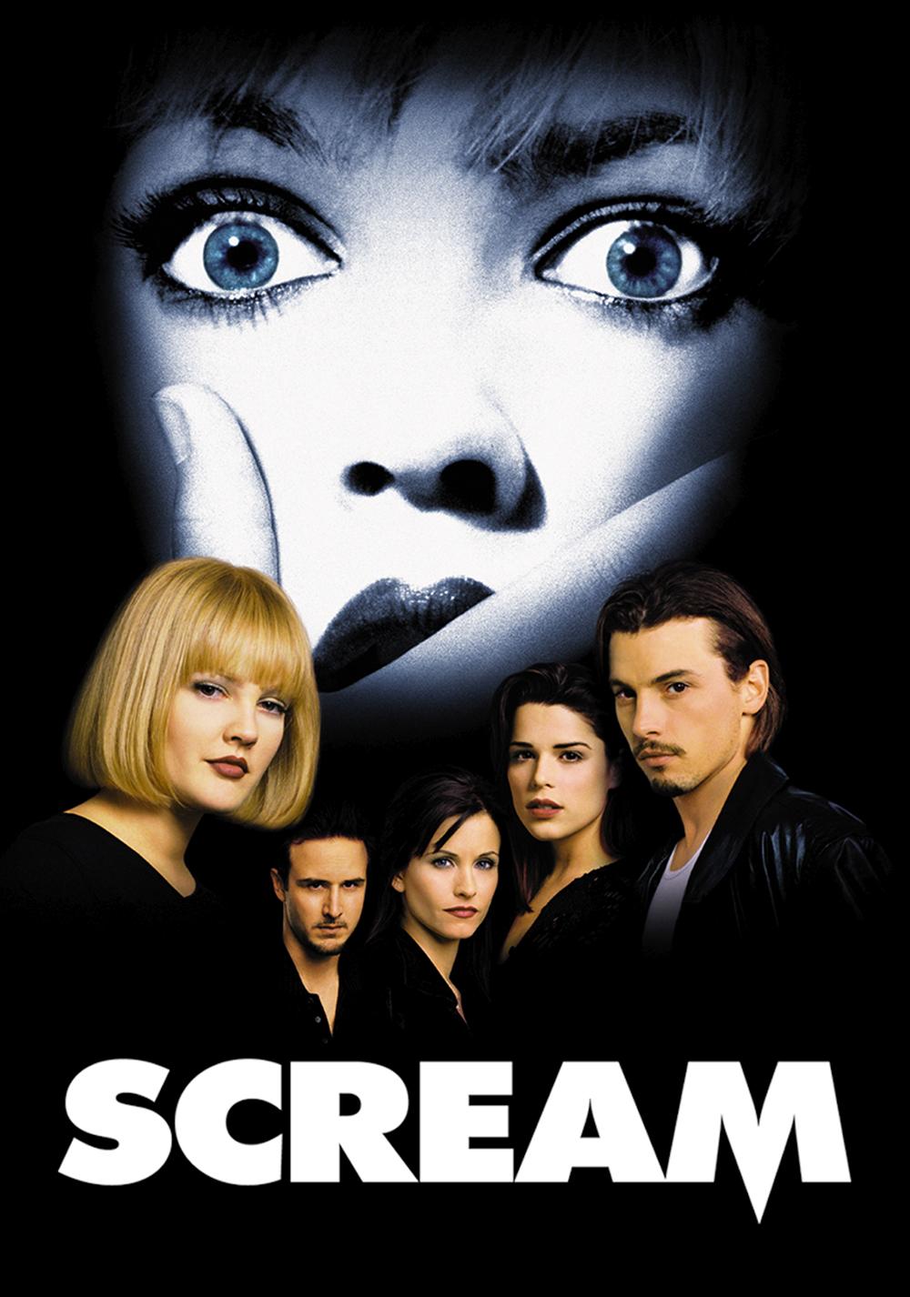 Scream Movie Poster Art