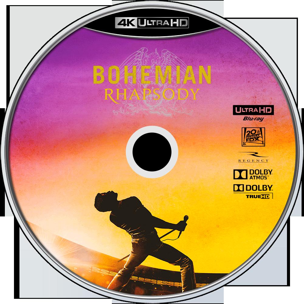 Bohemian Rhapsody Blu Ray Label