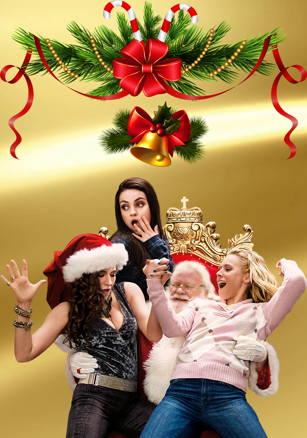 Bad Moms Christmas Poster.A Bad Moms Christmas Movie Fanart Fanart Tv