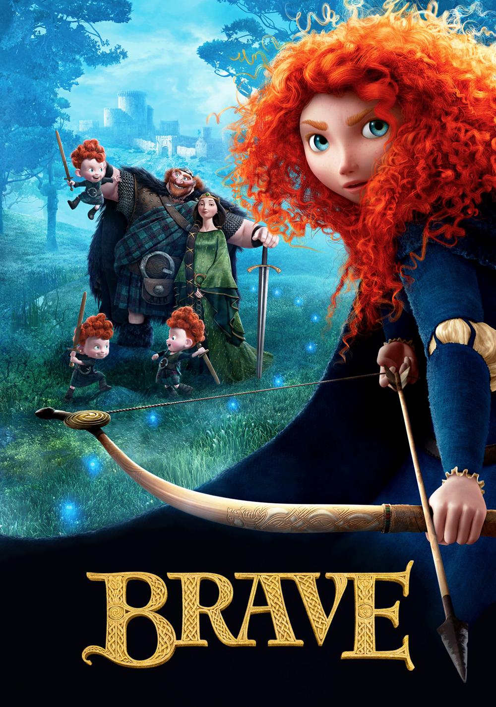 Brave (PG, 2012)