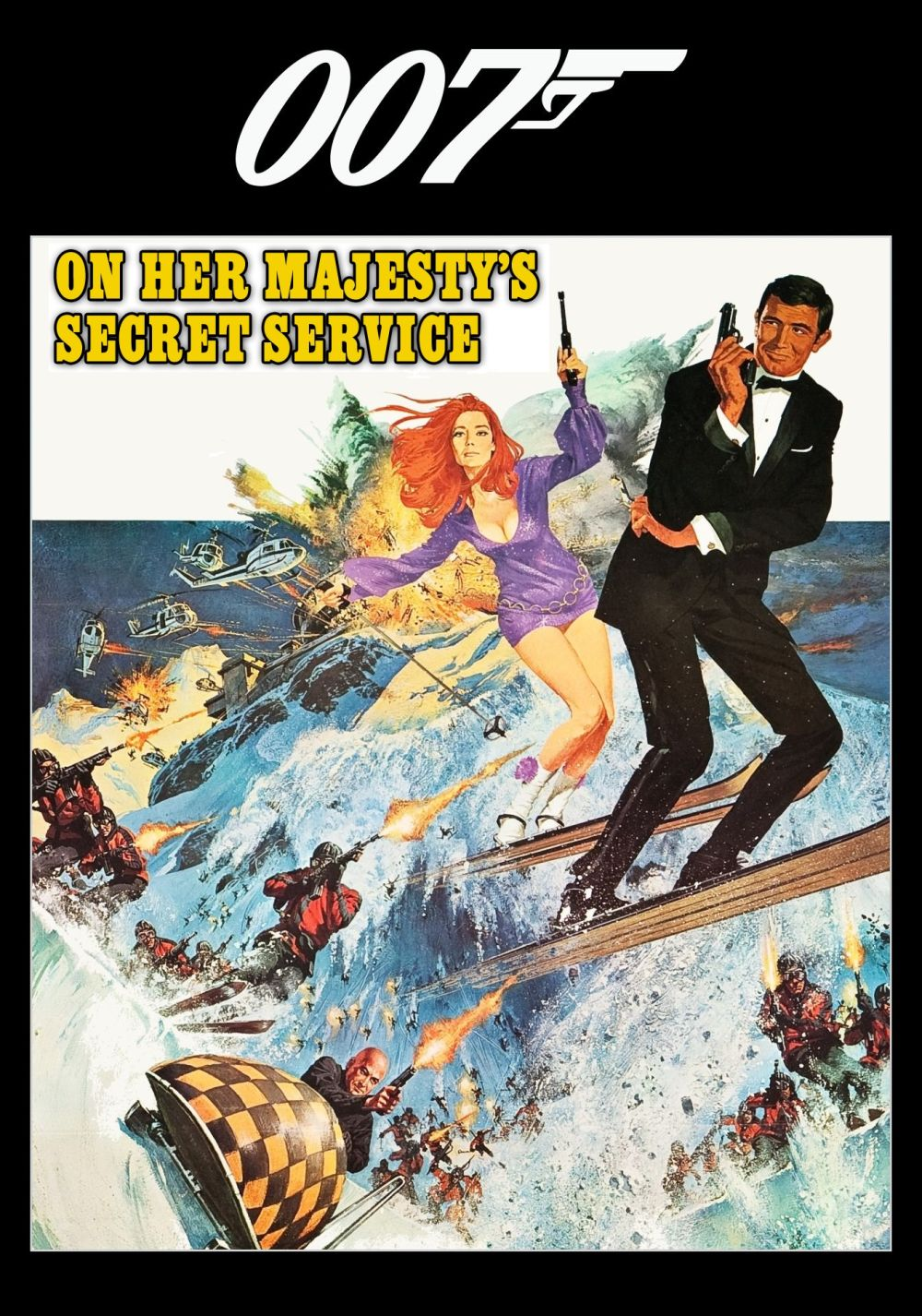 On Her Majesty's Secret Service | Movie fanart | fanart.tv