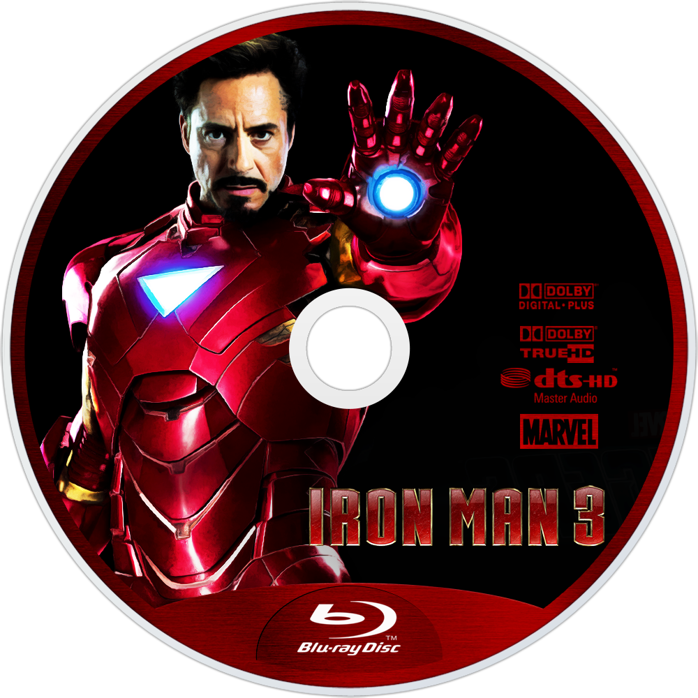 iron man 3 blu ray cover