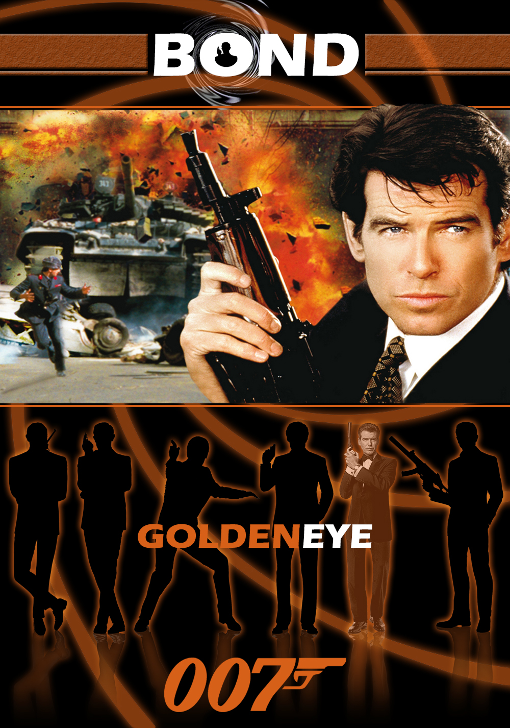 Goldeneye movie poster imageGoldeneye Movie Poster