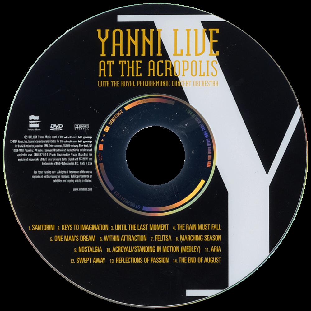 Yanni: Live at the Acropolis | Movie fanart | fanart tv