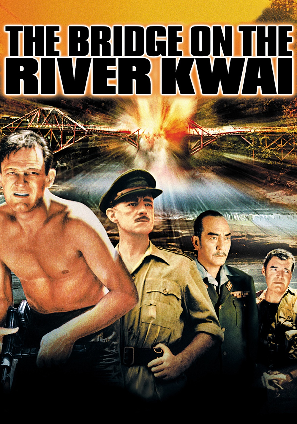The Bridge on the River Kwai  Movie fanart  fanart.tv