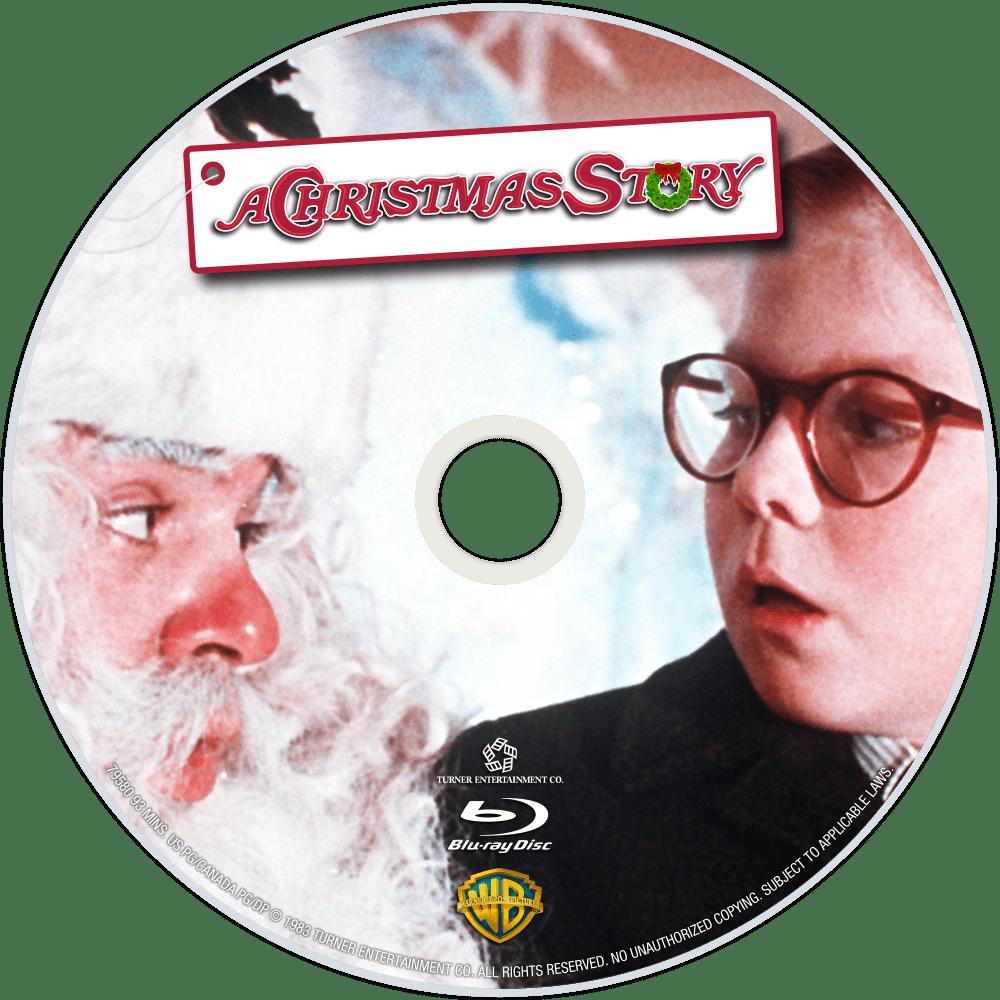 A Christmas Story bluray disc image