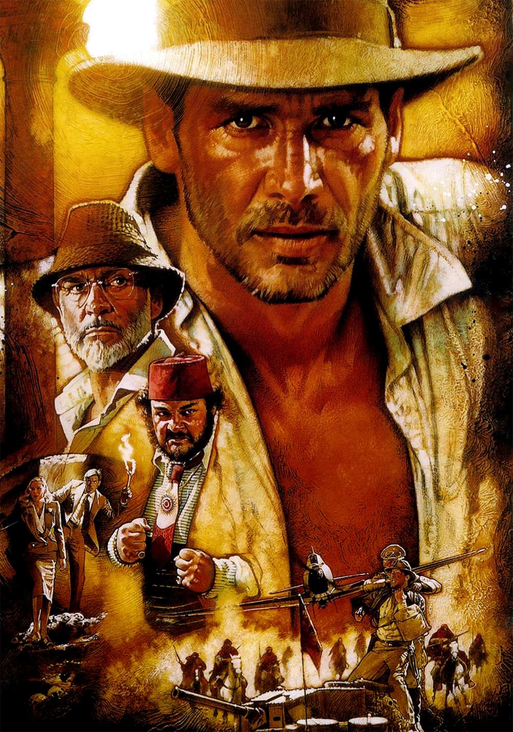 indiana jones and the last crusade movie fanart fanarttv