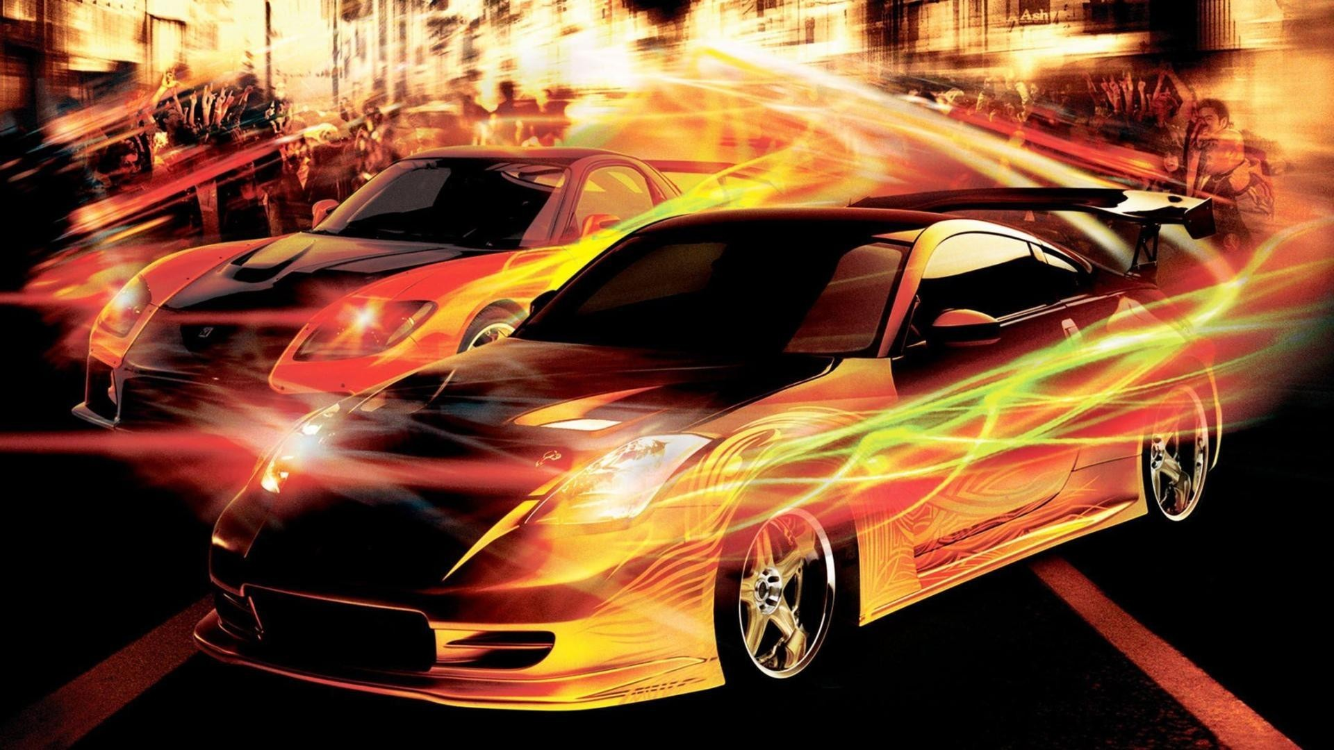 Free desktop wallpaper downloads the fast and the furious tokyo drift.