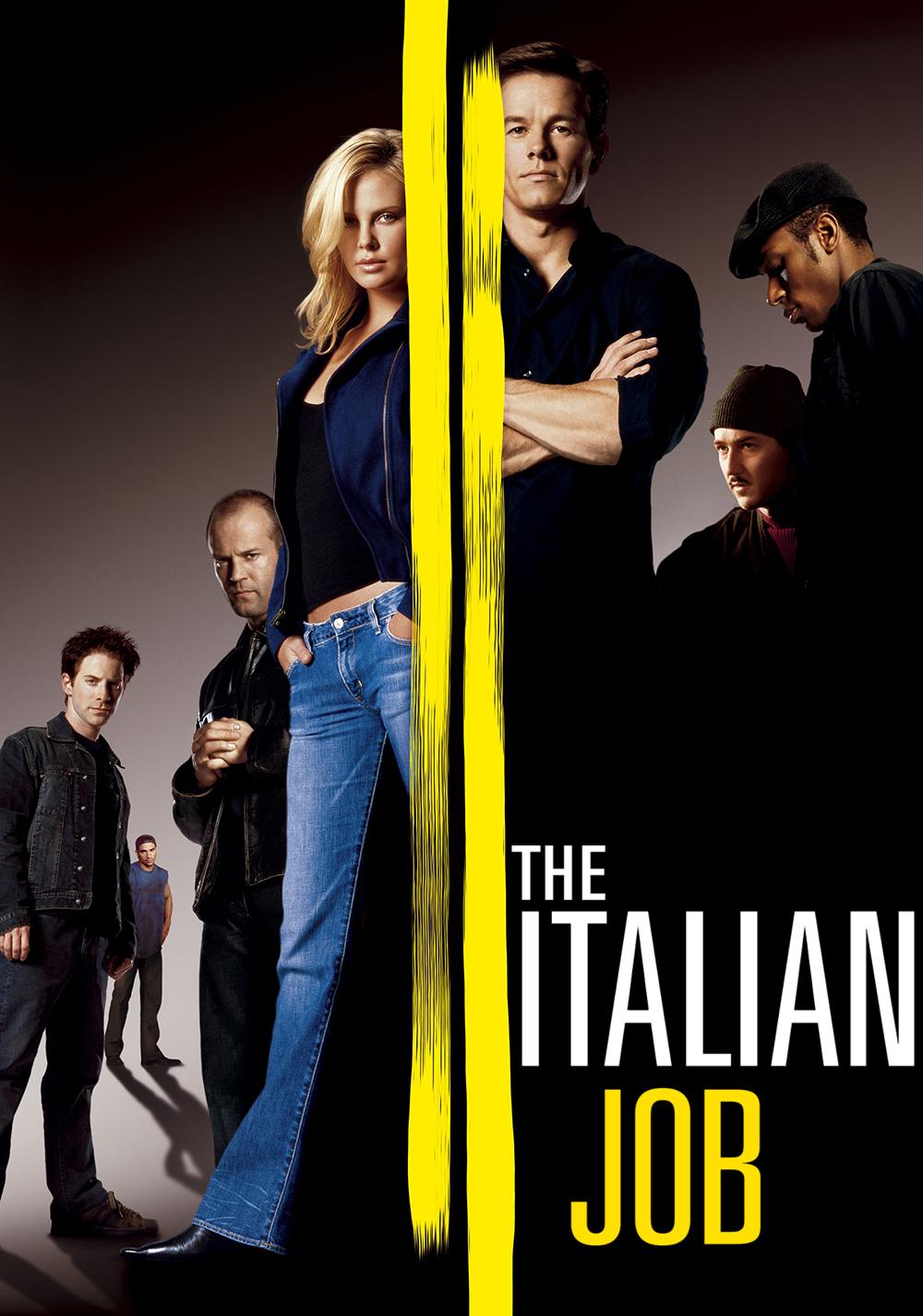 The italian job movie fanart for The italian