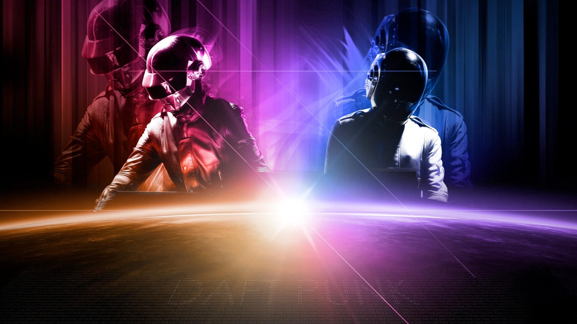 Daft Punk Backdrop Wallpaper
