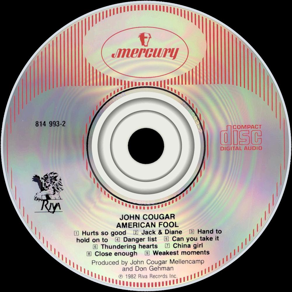 John Cougar Mellencamp 5 cd lot Uh-huh Scarecrow Freedoms