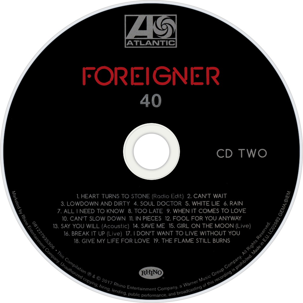 Foreigner album covers