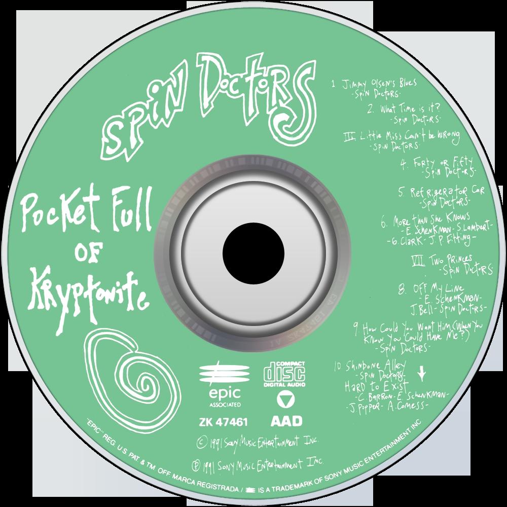 Spin doctors pocket full of kryptonite (cd, album, special.