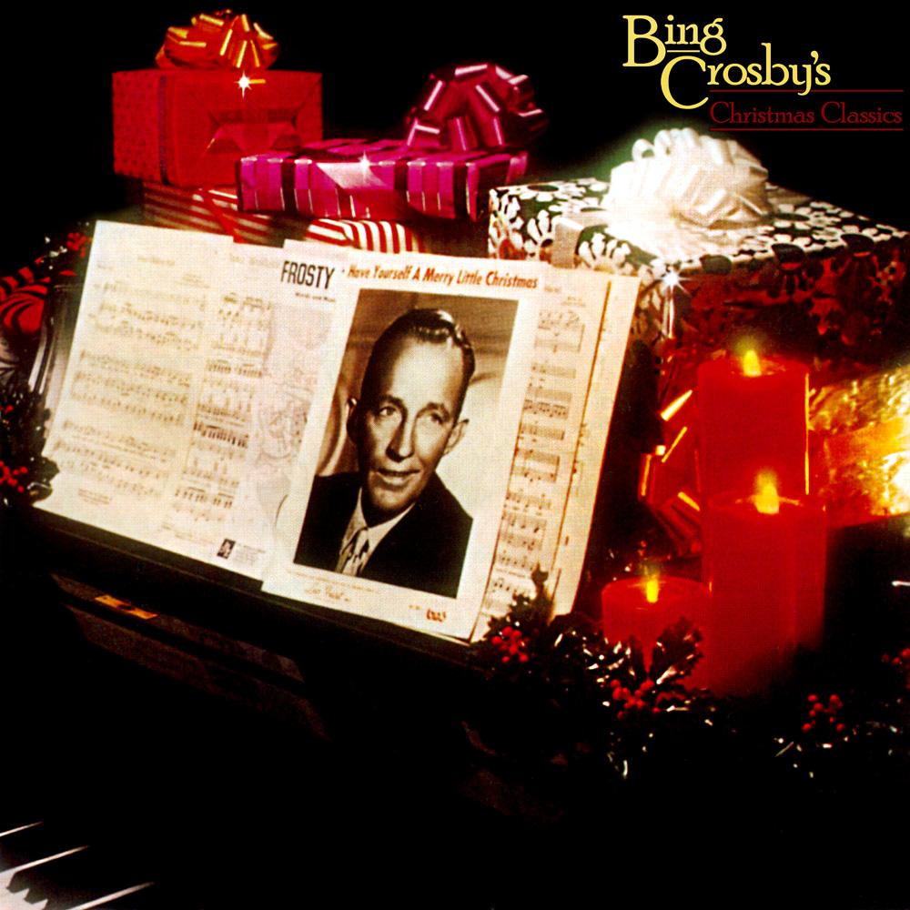 bing crosby christmas classics album cover - Bing Crosby I Wish You A Merry Christmas