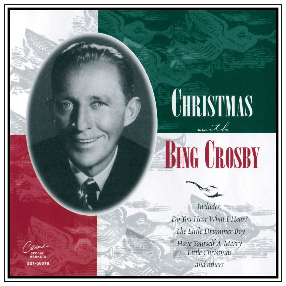 bing crosby christmas with bing album cover - Bing Crosby Christmas Music