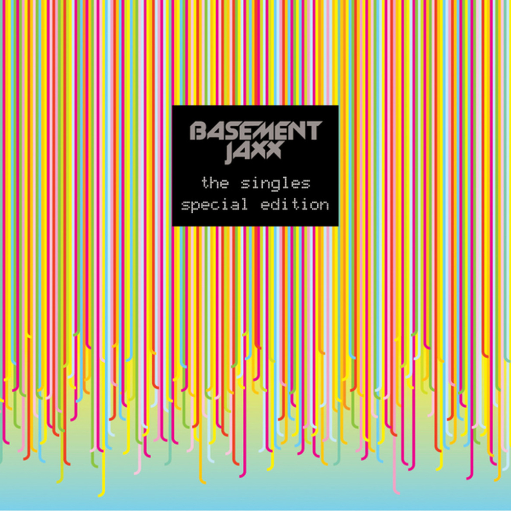basement jaxx the singles album cover