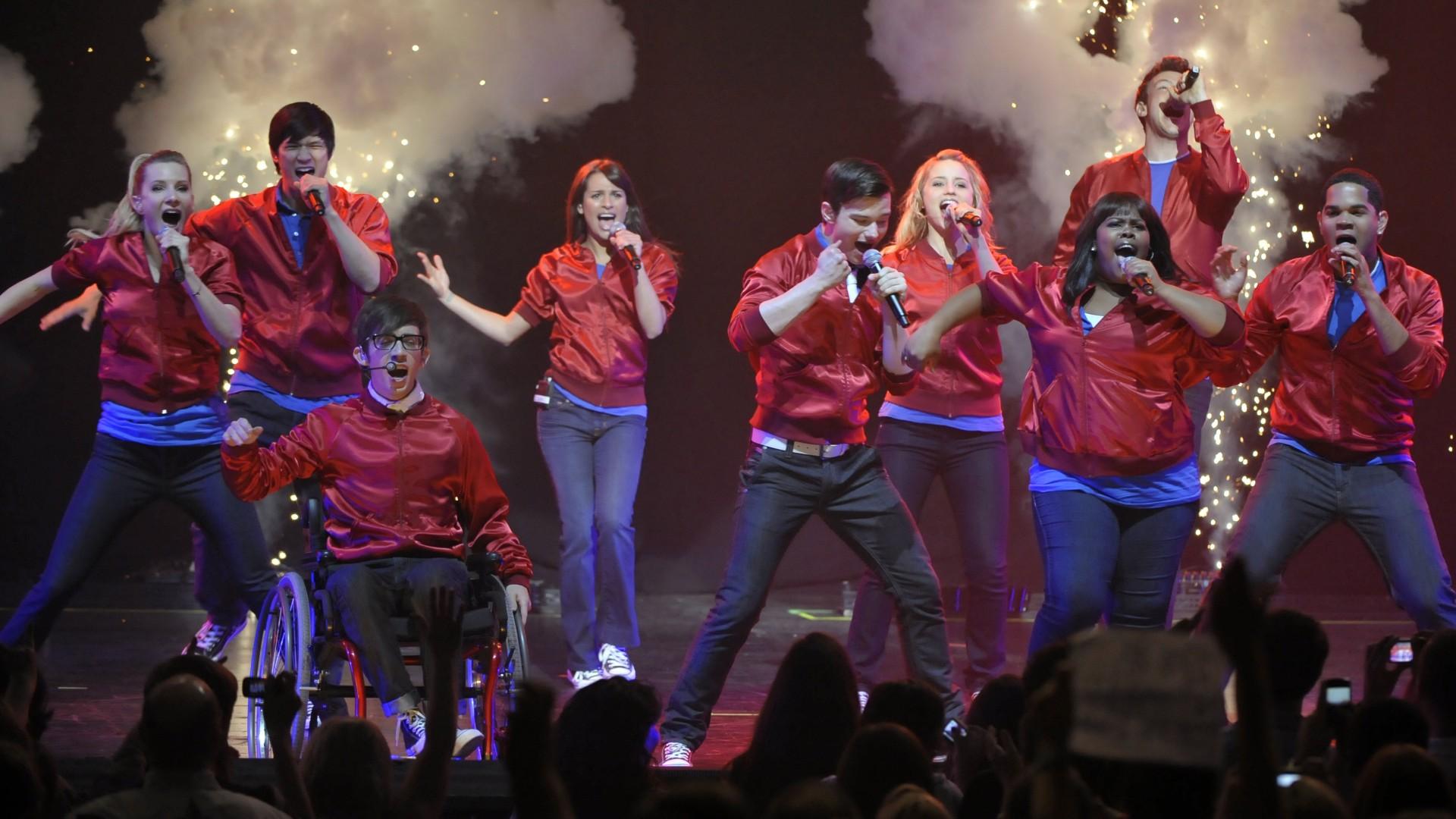 Glee Cast Music Fanart Fanarttv